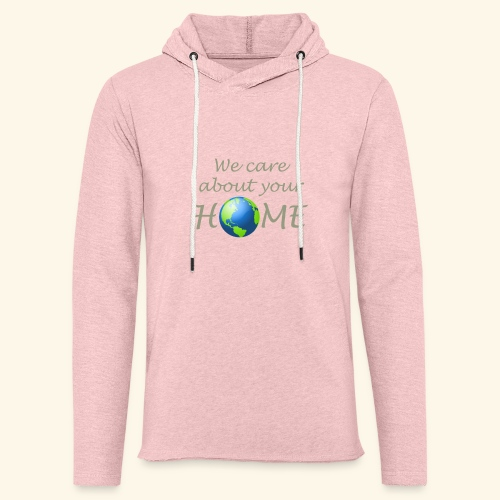 Happy Earth day - Unisex Lightweight Terry Hoodie