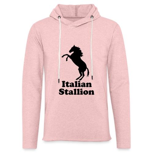 Italian Stallion - Unisex Lightweight Terry Hoodie