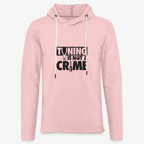 Tuning is not a crime - Unisex Lightweight Terry Hoodie