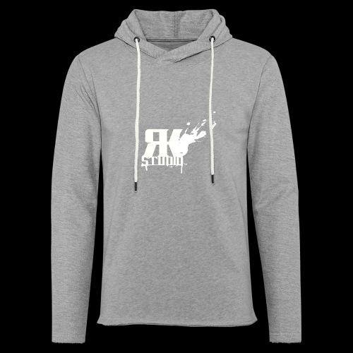 RKStudio White Logo Version - Unisex Lightweight Terry Hoodie