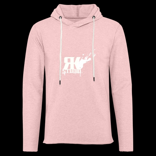 RKStudio White Logo Version - Unisex Lightweight Terry Hoodie