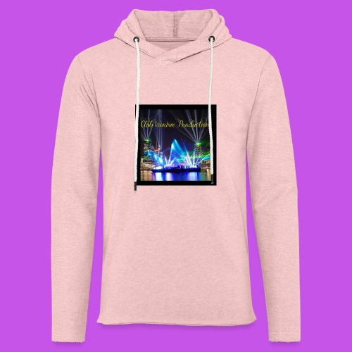 Club Wormie Productions 3 - Unisex Lightweight Terry Hoodie