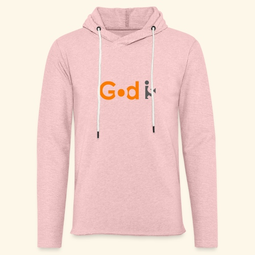 GOD IS #6 - Unisex Lightweight Terry Hoodie