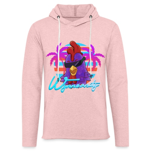 Palmed Out Wynnsanity - Unisex Lightweight Terry Hoodie
