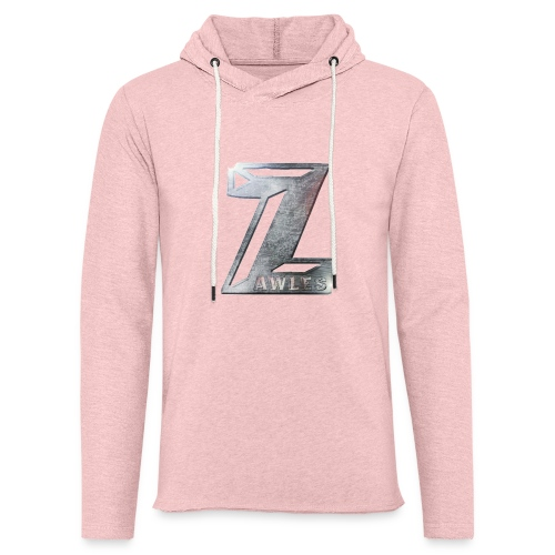 Zawles - metal logo - Unisex Lightweight Terry Hoodie
