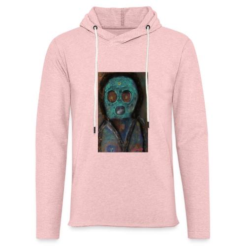 The galactic space monkey - Unisex Lightweight Terry Hoodie