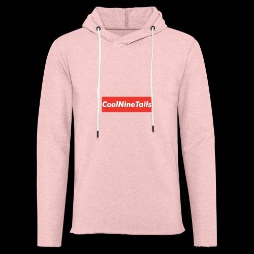 CoolNineTails supreme logo - Unisex Lightweight Terry Hoodie