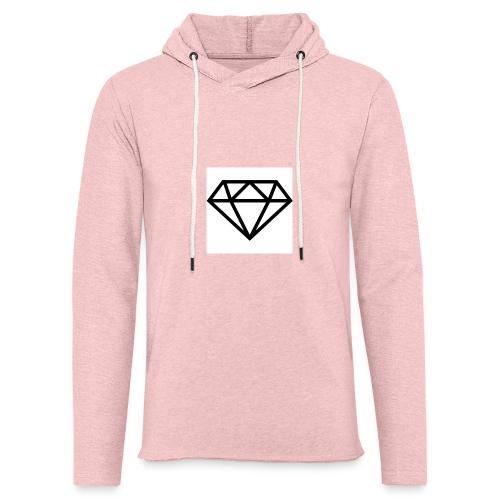 diamond outline 318 36534 - Unisex Lightweight Terry Hoodie