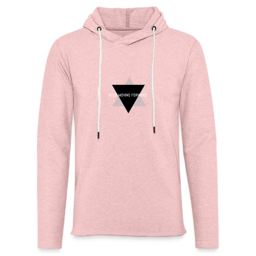 Keep Moving Forward - Unisex Lightweight Terry Hoodie