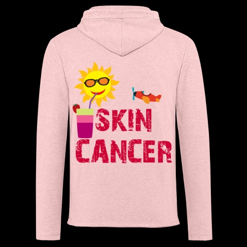 SKIN CANCER AWARENESS - Unisex Lightweight Terry Hoodie