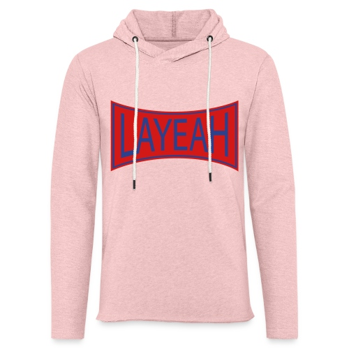 White LaYeah Shirts - Unisex Lightweight Terry Hoodie