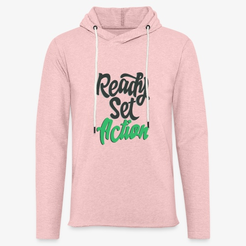Ready.Set.Action! - Unisex Lightweight Terry Hoodie