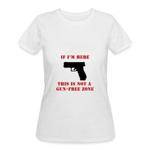 GunFreeZone - Women's 50/50 T-Shirt