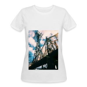 Ed Koch bridge - Women's 50/50 T-Shirt