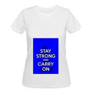 Stay Strong and Carry On - Women's 50/50 T-Shirt