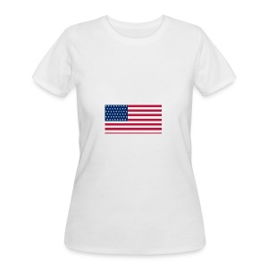 usa flag - Women's 50/50 T-Shirt