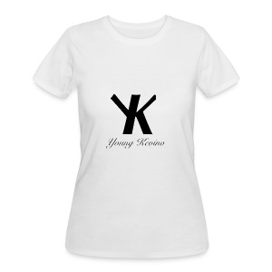 Young Kevino Official Logo (Black) - Women's 50/50 T-Shirt
