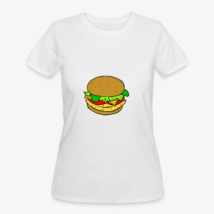Comic Burger - Women's 50/50 T-Shirt