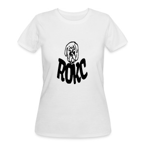 ROKC ALTERNATE LOGO - Women's 50/50 T-Shirt