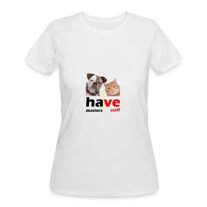 Dog & Cat - Women's 50/50 T-Shirt