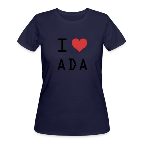 I HEART ADA (Cardano) - Women's 50/50 T-Shirt