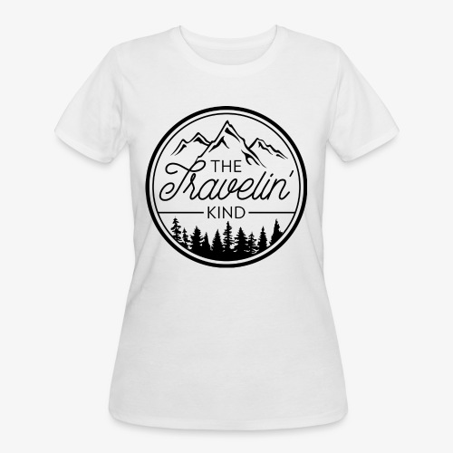 The Travelin Kind - Women's 50/50 T-Shirt