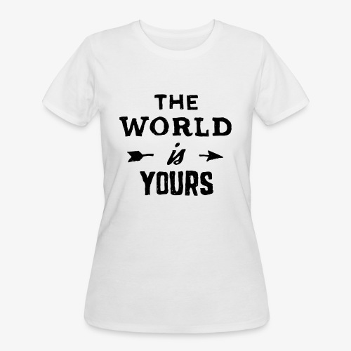 the world - Women's 50/50 T-Shirt