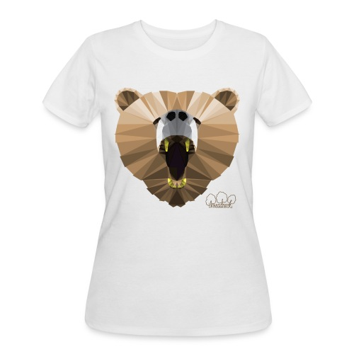 Hungry Bear Women's V-Neck T-Shirt - Women's 50/50 T-Shirt