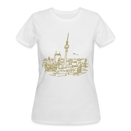 Panorama of Berlin - Women's 50/50 T-Shirt