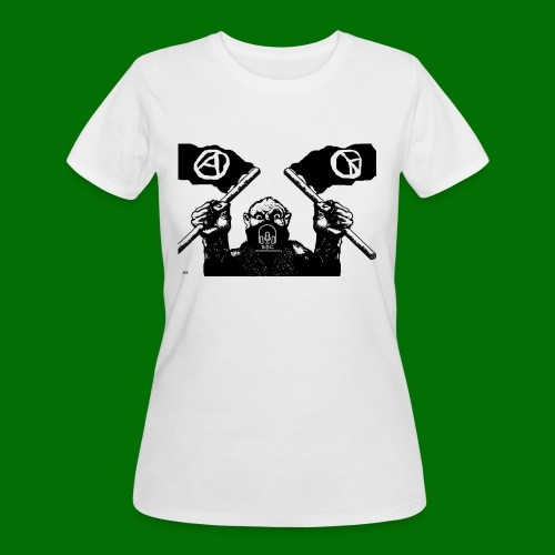 anarchy and peace - Women's 50/50 T-Shirt