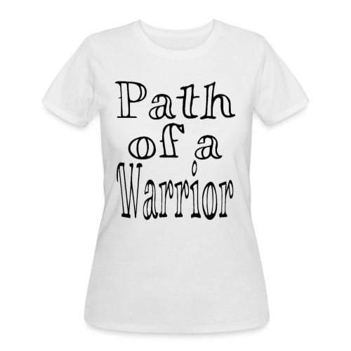 Path of a Warrior (White) - Women's 50/50 T-Shirt
