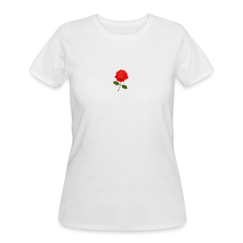 Rose Shirt - Women's 50/50 T-Shirt