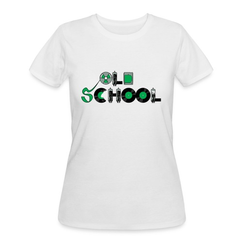 Old School Music - Women's 50/50 T-Shirt