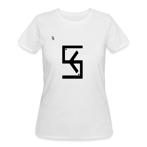 Soft Kore Logo Black - Women's 50/50 T-Shirt