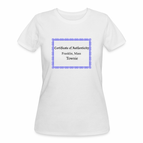 Franklin Mass townie certificate of authenticity - Women's 50/50 T-Shirt