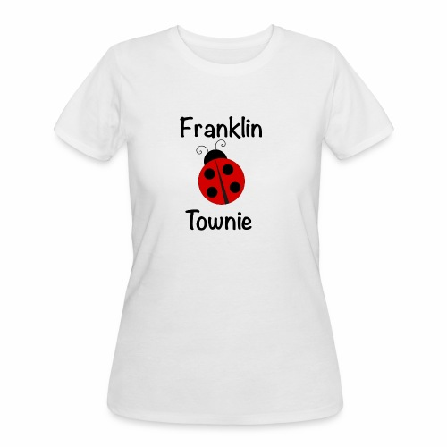 Franklin Townie Ladybug - Women's 50/50 T-Shirt
