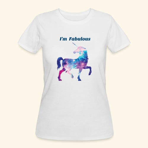 I'm Fabulous Unicorn - Women's 50/50 T-Shirt