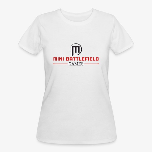 Mini Battlefield Games Logo - Women's 50/50 T-Shirt