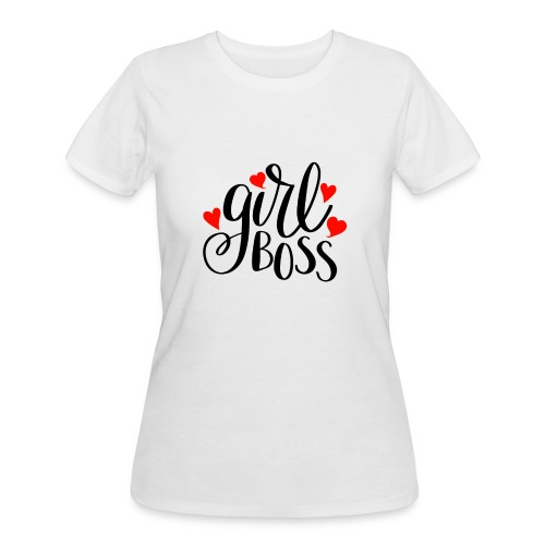 girl boss - Women's 50/50 T-Shirt