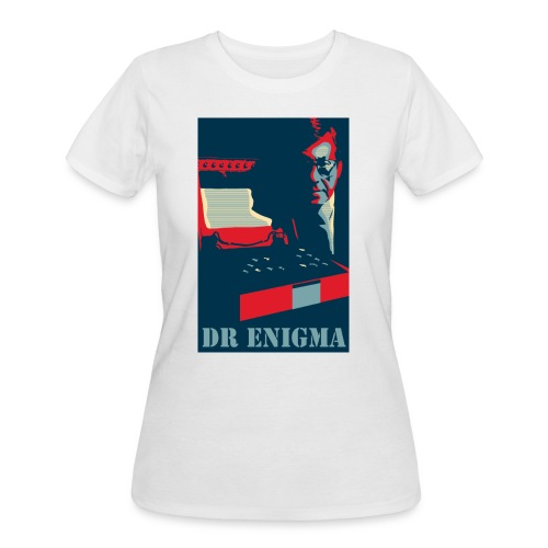 Dr Enigma+Enigma Machine - Women's 50/50 T-Shirt