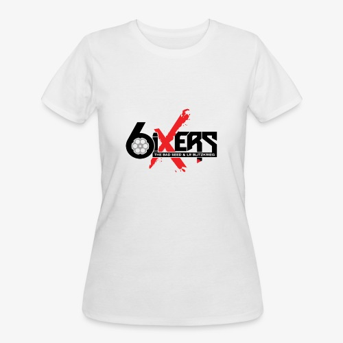 6ixersLogo - Women's 50/50 T-Shirt