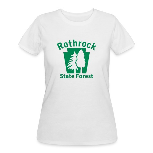 Rothrock State Forest Keystone (w/trees) - Women's 50/50 T-Shirt
