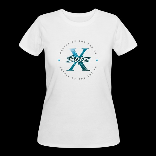 BOTZ X Circle Logo - Women's 50/50 T-Shirt