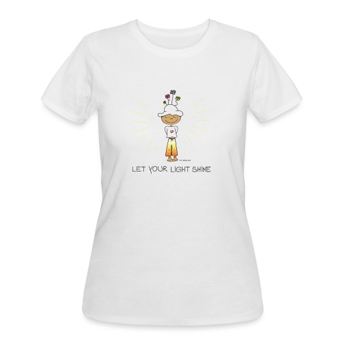 Let your light shine - Women's 50/50 T-Shirt