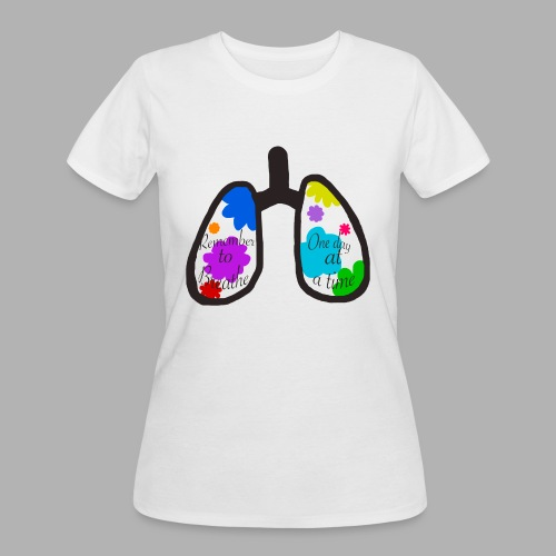 Remember to Breathe - Women's 50/50 T-Shirt