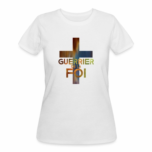 WARRIOR OF FAITH - Women's 50/50 T-Shirt