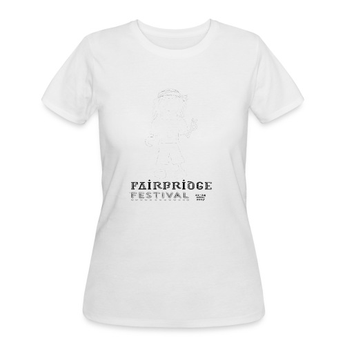Fairbridge Festival 2017 TShirt Rolled Edge - Women's 50/50 T-Shirt