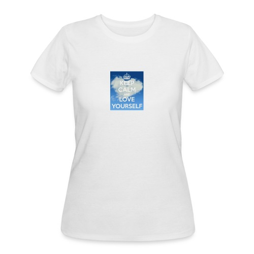 Keep calm and love yourself - Women's 50/50 T-Shirt