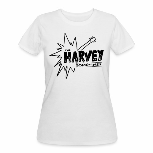 Band Logo - Black - Front and Back - Women's 50/50 T-Shirt