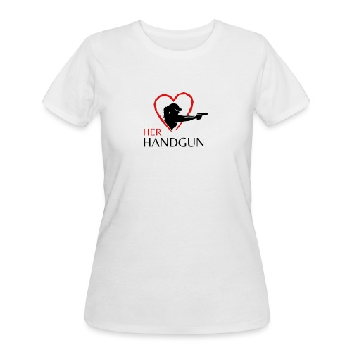 Official HerHandgun Logo - Women's 50/50 T-Shirt
